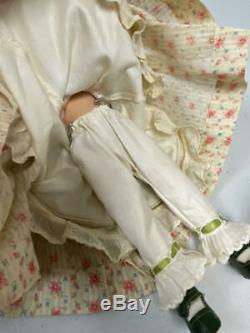 11 Vintage Composition Madame Alexander Scarlett O'hara Doll In Flora Print