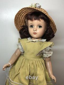 14.5 Antique Vintage Madame Alexander Margaret OBrien All Original Braids #F