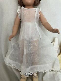 14 Wendy Ann Composition Bride Doll Tagged Madame Alexander Vintage