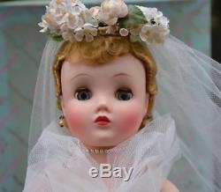 16 1/2 Madame Alexander Blonde Elise Bride #1750-1958 with Box