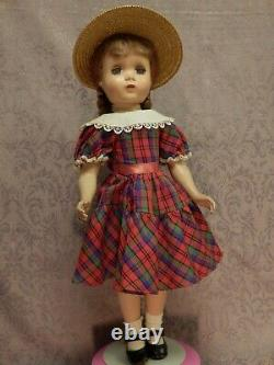 17 Madame Alexander Polly Pigtails Maggie Original Dress
