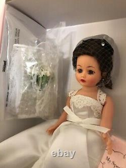 191/500 NEW COA! RARE! LIMITED EDITION Cissette Madame Alexander Bride Doll