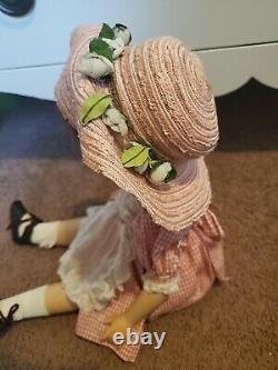 1940's Vintage Madame Alexander 21 Margaret O'brien Doll All Original With Tag
