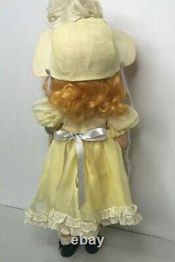1942 Kate Greenaway 15 Composition Doll Madame Alexander A/O Hand Tag