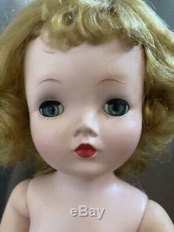 1950's Madame Alexander 20 blonde Basic Cissy doll, nude