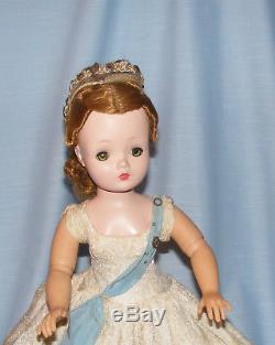 1950's Madame Alexander CISSY as QUEEN ELIZABETH doll