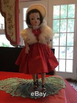 1950s 21 Hard Plastic MA Cissy Blue Eyes Doll Original Dress