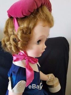 1950s 24 Madame Alexander Binnie Walker Doll All Original w Tagged Dress NR
