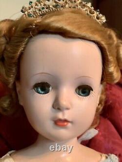 1950s MADAME ALEXANDER QUEEN ELIZABETH DOLL MARGARET FACE ALL ORIG
