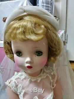 1950s Madame Alexander 20 Cissy Doll bride
