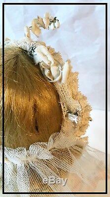 1950s Madame Alexander HP Walker Bride Doll All Original