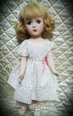 1951 Madame Alexander 18 inch Original tagged Wendy Ann doll