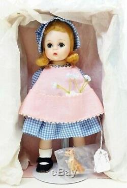 1955 Madame Alexander Kins Bent Knee Walker BKW 8 Doll Wendy Plays In Garden