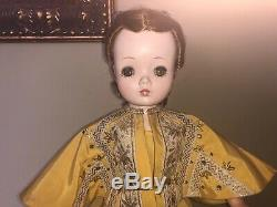 1955 VHTF Gorgeous Madame Alexander Cissy Doll in original Tagged Gown set
