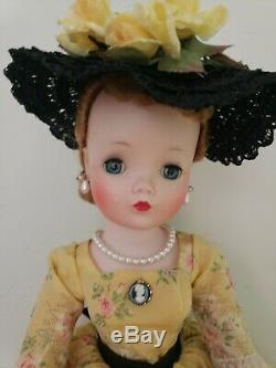 1957 Cissy in Yellow Cameo outfit
