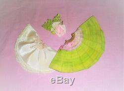1957 Madame Alexander Cissette Doll Watermelon Stripes Sister Set Skirt Rare