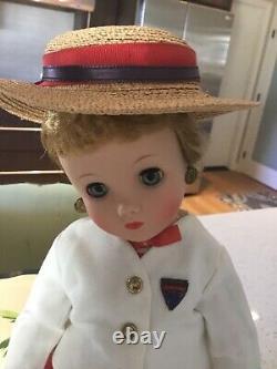 1960 Madame Alexander HTF 16 Elise SCHOOL GIRL Doll Blonde Hair MINTY WithH