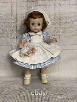 1962 Madame Alexander Kins Doll, Vintage Wendy Nurse #429, BK Walker, Alex