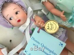 1998 Madame Alexander Dionne Quintuplets 75th Anniversary Vinyl Doll Set 12230