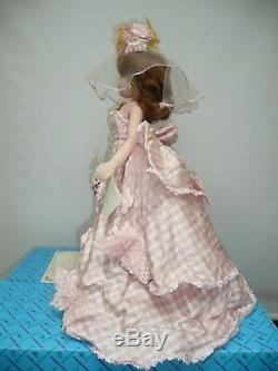21 Alexander Cissy Peony & Butterfly Wedding Gown MWB and COA #284/2500 1997