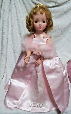 21 Inch Vintage 1950s Madame Alexander Cissy Doll & Tagged Dress