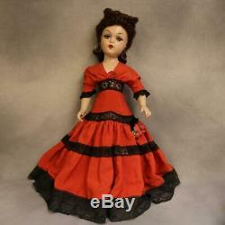 21 Madame Alexander Carmen Portrait doll Composition 1938,1946 Original clothes