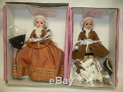 21 Madame Alexander Pompadour Fall Cissy & Louis XV with3 Dogs, Mint NRFB #75/120