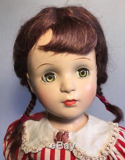 21 Margaret O Brien Madame Alexander COMPOsition doll ORIG dress ++