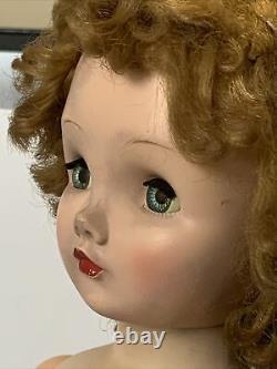 23 Vintage Madame Alexander Binnie Winnie Walker Cissy Face Green Eyes, Tagged