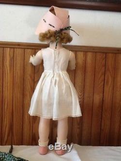 25 Hard Plastic Winnie Walker Madame Alexander Doll Circa 1953