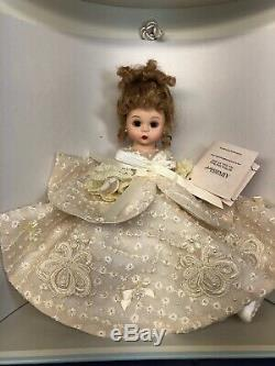 8 Madame Alexander Doll Wendys Fabulous Fifties Trunk Wedding Mint With Box