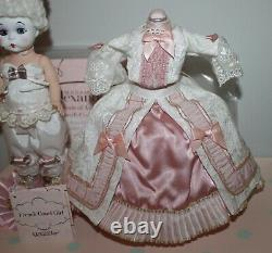 8 Madame Alexander MA Doll Set FRENCH COURT GIRL withStand EUC Mint