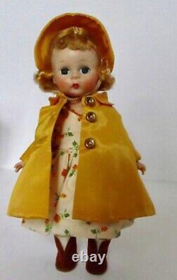 8orig. 1956 Madame Alexander-kins Wendy Weather Triple Stitched Hair Mib