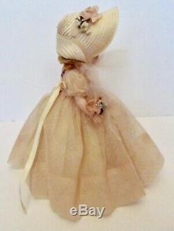 8orig. 1957 Bridesmaid Madame Alexander Alexander-kins Bkw Triple Stitch