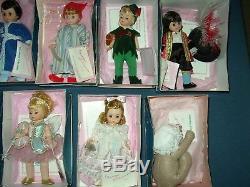 9 Madame Alexander Peter Pan Lot 8 Storyland Dolls Boys & Girls Dolls