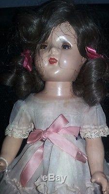 ANTIQUE 1936 Madame Alexander Doll 15 WENDY ANN Composition DOLL RARE 1930'S