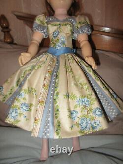 Alexander Cissy Rare Puffed Sleeve Dress & Accessories, Stitch by Stitch Replica