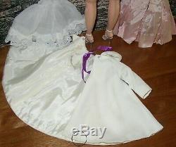 Alexander Vintage Elise Doll 15 16 Tall White Coat Pink Dress Chemise Rare