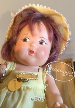 Annette Doll Madame Alexander 8 Composition Dionne Quint All Original 1930's