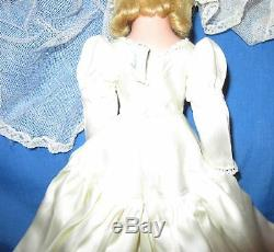 BEAUTIFUL Rare 14 1949-50 MADAME ALEXANDER LUCY BRIDE