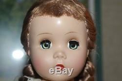 BEAUTIFUL Vintage 14 Tagged All Original Polly Pigtails Hard Plastic Strung Dol