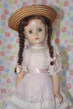 BEAUTIFUL! Vintage 18 Madame Alexander Margaret O'Brien Composition Doll (K)