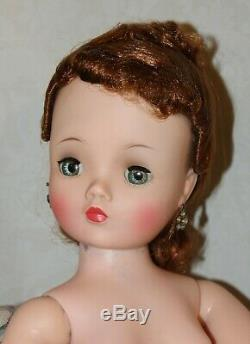 Beautiful 1950s CISSY DOLL with RED HAIR by Madame Alexander