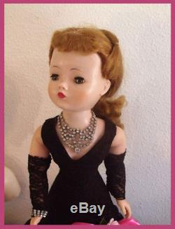 Beautiful Vtg Madame Alexander Cissy, Perfect Face & Hair, No Splits or Rubs