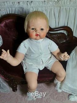 Big Beautiful 24 Vintage Madame Alexander Kitten Baby Doll