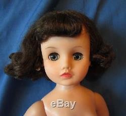 Brunette Elise 15 Madame Alexander Fifties Doll Tagged Gown