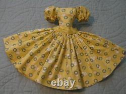 Cissy's Htf Yellow Wreath Dress From 1957