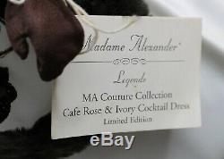 EXQUISITE MADAME ALEXANDER CISSY-'CAFE ROSE'- Circa1996 21 INCH