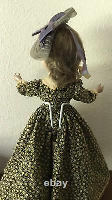 Early Vintage Madame Alexander Doll Hard Plastic 14 Little Women Jo Rare Hat