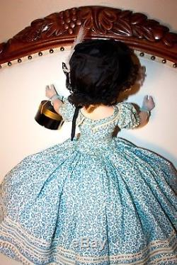Extrememly Rare Vintage Madame Alexander BLUE variation Edwardian Glamour Girl